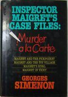 INSPECTOR MAIGRET'S CASE FILES: MURDER a la CARTE - GEORGES SIMENON