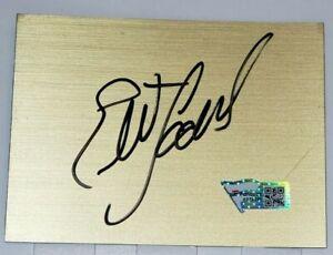 Elliott Sadler Autographed NASCAR Signed 3x4 Vinyl Cut Plaque Fanatics #A972268