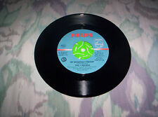 """THE  4  SEASONS   """"LET'S HANG ON""""        7 INCH  45     1963"""