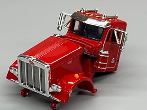 1/64 DCP PARTS RED PETERBILT 359 DAY CAB