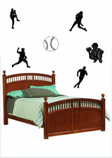 Baseball Players Sports Vinyl Wall Decal Sticky Decor Letters Stickers Custom