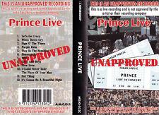 PRINCE Live  - Cassette - Tape   SirH70