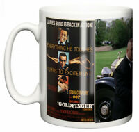 Dirty Fingers Mug, Sean Connery James Bond Goldfinger, Film Movie Poster