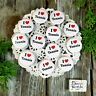 "12 Tennis Pins 1 1/4"" PINBACK Buttons Award Party Favors Pkg'd USA NEW DecoWords"