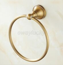 Round Style Wall-Mounted Brass Towel Ring Holder Hanger Bathroom Accessories
