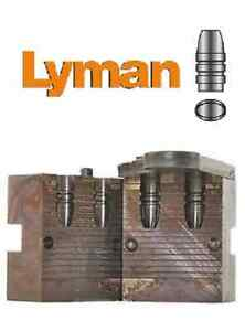 Lyman 257420 DC RFL Mold for 25 Caliber 65gr. Flat Nose Gas Check # 2660420 New!