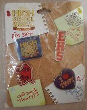 Disney High School Musical On Tour Pin Booster Set Rare - EHS Logo Troy Wildcats