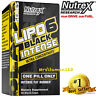 Nutrex LIPO-6 Black INTENSE Ultra Concentrate Weight Loss 60 Capsules New! Free