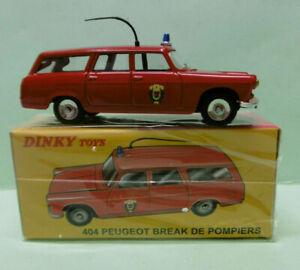 Dinky Toys / Atlas - PEUGEOT 404 Break Pompiers - réf. 525P 1/43