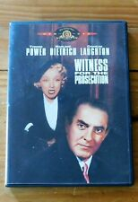 Witness For The Prosecution - Dvd - Oop - Marlene Dietrich - Tyrone Power