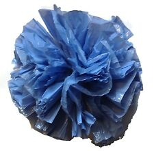 "25 Car Limo wedding Decoration Plastic Pom Poms Flower 4"" - periwinkle"