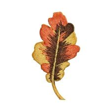 ID 7166 Tree Plant Leaf Autumn Fall Nature Embroidered Iron On Applique Patch