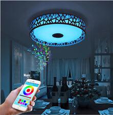 RGBW Musik LED Deckenleuchte Licht APP Bluetooth Control Farbwechsel Dimmbar