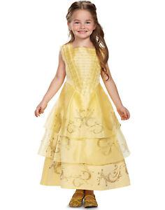 Disney Belle et la Bête Belle Fille de Luxe Princesse Balle Robe Déguisement
