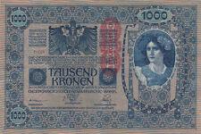 Billet banque AUTRICHE AUSTRIA 1000 KRONEN 1902 état voir scan 705