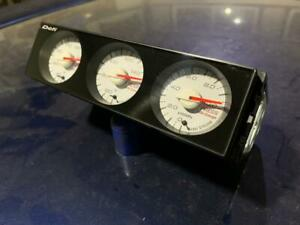 DEFI Subaru, Mitsubishi 1DIN TRIPLE GAUGE SET, red backlight, full kit!