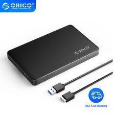 "ORICO 1TB 2TB 2.5"" USB 3.0 SATA HDD Box HDD Hard Disk Drive Enclosure Case UASP"