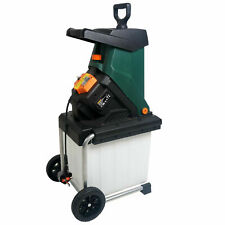 More details for heavy duty garden shredder 40mm cutting width electric 2500 w 4050 rpm blade new