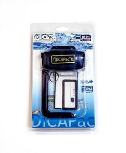 DiCAPac WP-711 Digital Camera Waterproof Underwater Case Super Clear Lens