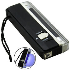 New 365nm Detecting ID Card Postage Stamps & Tagging 4W UV Tube Black Light Lamp