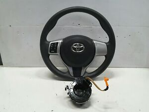 Toyota Yaris Steering Wheel Vinyl Audio 2012 including Airbag & Clock Spring