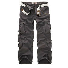Mens Casual Military Army Cargo Camo Tactical Combat Work Pants Trousers USA