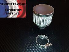 Mini Filtre à Air, mise à l'air moteur, reniflard, 10 mm, gris, VENDEUR FRANCAIS