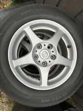 X4 TOYOTA CAMRY GENUINE ALLOY WHEELS & TYRES, 15 Inch - Tyres only 150km