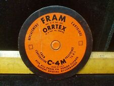 2xVintage/Antique Fram ORRTEX C-4M cartridge,Series Filter, Excluding Studebaker