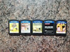 Bulk Lot PS Vita Games *RARE*