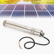 Deep Well Submersible Pump Solar Water Pump Dc 24v 520w Stainless Steel Pump