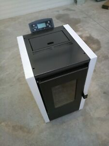 Stove heating stove from wood pallets 6kW 50m2 New