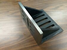 """Slotted Angle Plate webbed End 10x8x6"""" high tensil accurate ground SAPW-1086-new"""