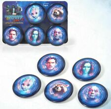 NEW Guardians Of The Galaxy Vol. 2 - Marvel Cinema Promo 5x Button Pin Badges