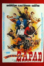WILD WEST WESTERN WAYNE EASTWOOD 70'S RARE EXYU MOVIE POSTER