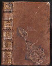 La SAINTE BIBLE par Mr De SACY Proverbes Ecclésiaste Sagesse Cantiques 1722 T.6