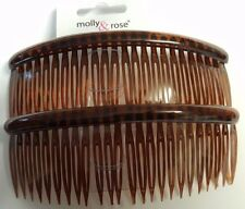 Accesorios para el cabello de mujer Paquete de 2 Agravio Cabello Peines 12 Cm