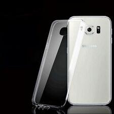 Silicone Transparent étui pour téléphone portable SAMSUNG Galaxy S6 Edge