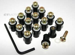 Ducati Fairing bolt nut screw kit 748 916 996 998 GOLD