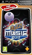 Buzz ! The Ultimate Music Quiz   PSP  nuovo!!!