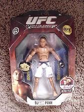 "NEW UFC B J PENN 6"" FIGURE W/ CHAMPIONSHIP BELT ZUFFA MMA PRIDE SEALED UN-OPENED"