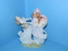 Roman Seraphim Classics Angel Figurine Celebration Rejoice in Life 81628 Box COA