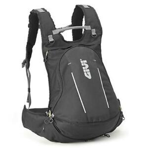Backpack Motorcycle Expandable GIVI Easy Bag EA104B + Cover Waterproof & Helmet