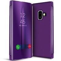 Handy Klapp Tasche für Samsung Galaxy J6 2018 Hülle View Flip Case Schutz Cover