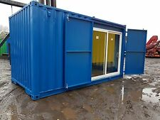 Rare Size 15x8 Ft Secure Container With Lock Box & Special Fork Lift Holes.