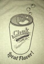 """Green CHEK BRAND """"Local Flavor"""" Drink Cola Soda Pop Classic South Graphic Tee~L"""