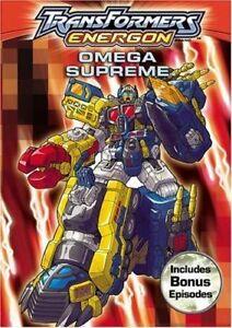 Transformers: Energon - Omega Supreme (DVD, 2005)