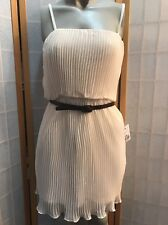 Forever Twenty One Ivory Short Mini Dress Womens  Size S