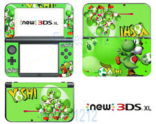 Super Mario Yoshi Cute Vinyl Decals Skin Stickers for Nintendo New 3DS XL 2015
