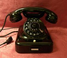 W48 altes Telefon RB&CO Bakelit  Telephone 9.60
